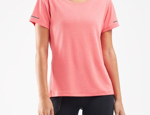 2XU - XVENT G2 Short Sleeve Tee - Women's - Pink Lift/Silver Reflective - AW20