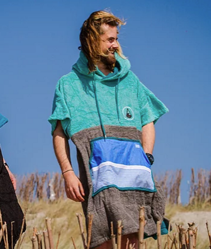 Wave Hawaii - Poncho - Unisex - Tre - Height 175-205cm