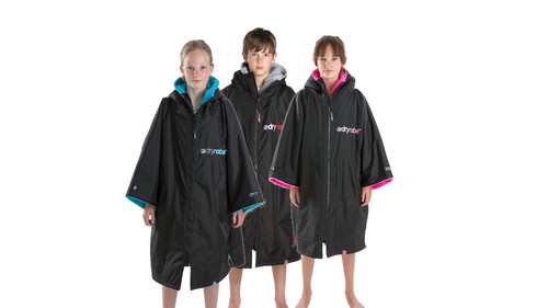 Dryrobe - Advance Short Sleeve Changing Robe - Kids 10-14