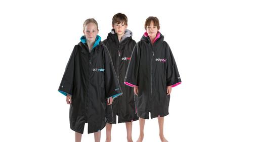 Dryrobe - Advance Short Sleeve Changing Robe - Kids 10-14