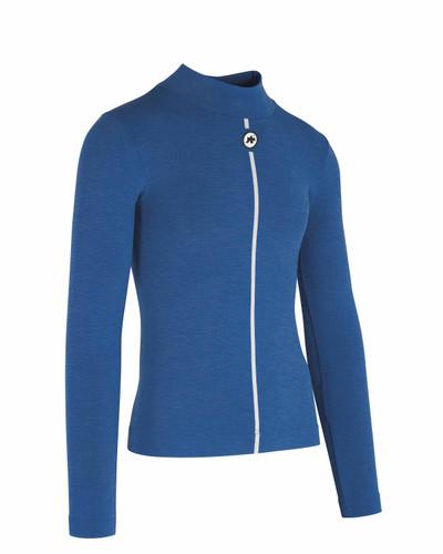 Assos - Ultraz Men's Winter Long-Sleeved Skin Layer - Calypso Blue
