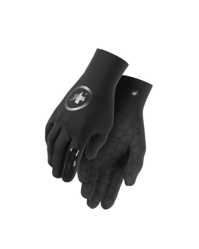 Assos - Unisex evo7 rainGloves - Black Volkanga