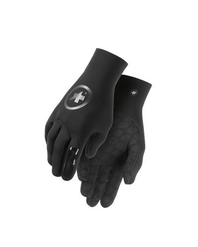 Assos - Unisex evo7 rainGloves - Black Volkanga