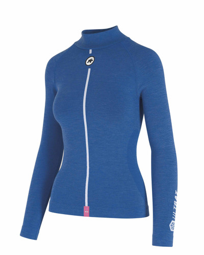 Assos - Ultraz Women's Winter Long-Sleeved Skin Layer - Calypso Blue