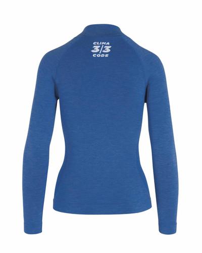 Assos - Ultraz Women's Winter Long-Sleeved Skin Layer - Calypso Blue
