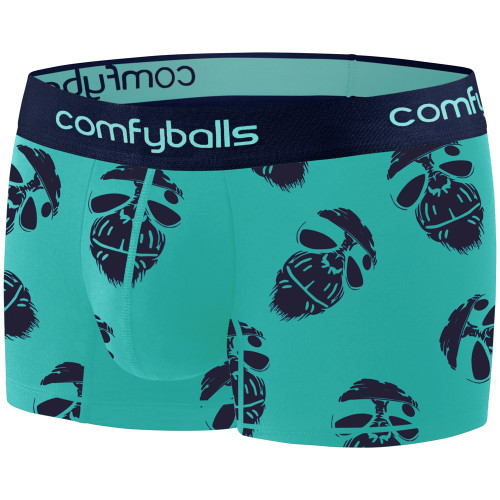 Comfyballs - Men's Cotton Regular Boxer - Cool Monkey