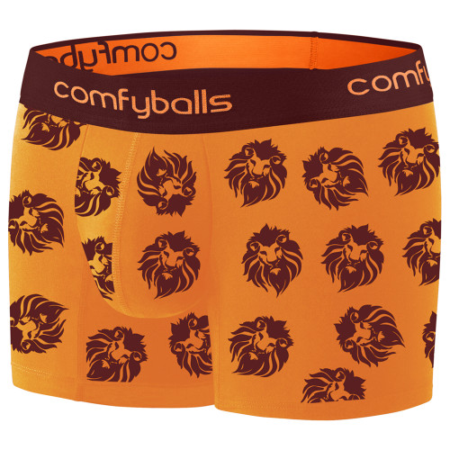 Comfyballs - Men's Cotton Long Boxer - Lion King