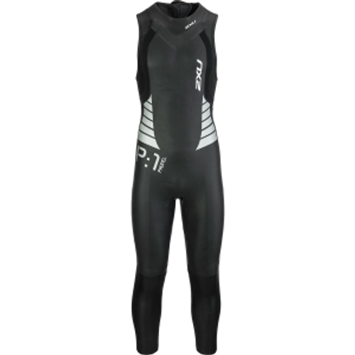 2XU - Women's P:1 Sleeveless Propel Wetsuit - Black/Pink Peacock -  Ex-Rental 1 Hire