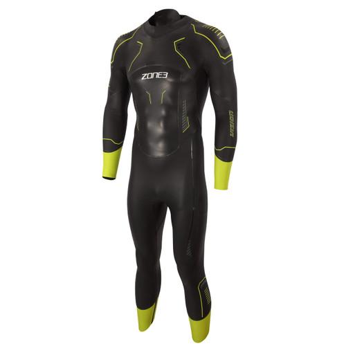 Zone3 - Vision Men's Wetsuit 2021 - Black/Lime/Gunmetal