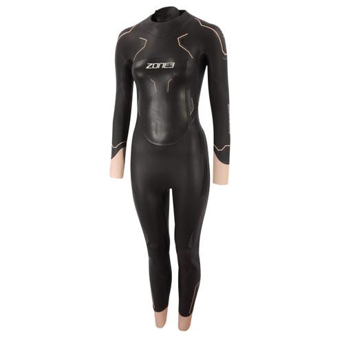 Zone3 - Vision Women's Wetsuit 2021 - Black/Rose Pink/Gunmetal
