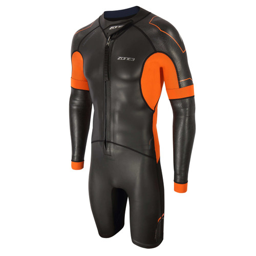 Zone3 - Versa Men's Wetsuit 2021 - Black/Orange/Gunmetal