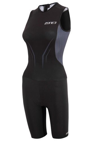 Zone3 - Aeroforce X Women's Swimsuit Back Trisuit 2021 - Black/Grey