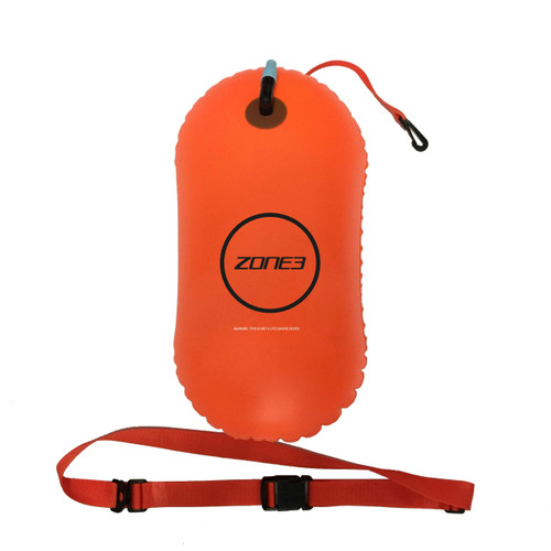 Zone3 - Swim Safety Buoy/Tow Float 2021 - Neon Orange