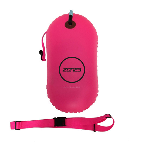 Zone3 - Swim Safety Buoy/Tow Float 2021 - Neon Pink