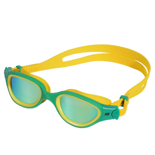 Zone3 - Venator-X Goggles 2021 - Green/Yellow, Polarising Revo Gold lenses