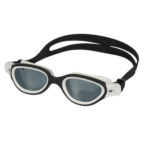 Zone3 - Venator-X Goggles 2021 - Black/White, Smoke-Tinted lenses