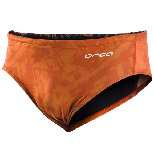 Orca - Swim Briefs - Men's - Orange - 2021