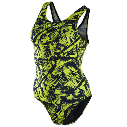 Orca - One Piece Swim Costume - Women's - Blue Lime - 2021