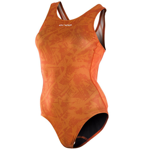 Orca - One Piece Swim Costume - Women's - Orange - 2021
