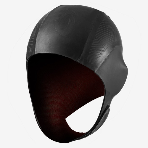 Orca - Unisex Thermal Neoprene Swim Cap 2021 - Black