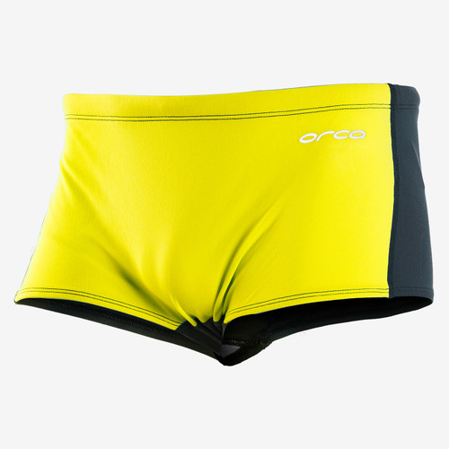 Orca - RS1 Men's Square Leg Trunks 2021 - Yellow