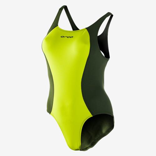 Orca - RS1 Women's One-Piece Swim Costume 2021 - Green