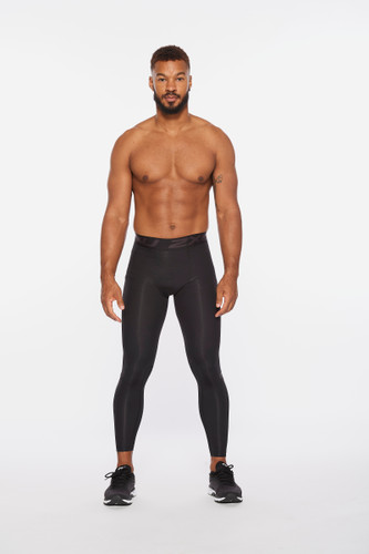 2XU - Men's Motion Compression Tights 2021 - Black/Carbon Fibre