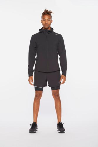 2XU - Aero Men's Jacket 2021 - Black/Silver Reflective