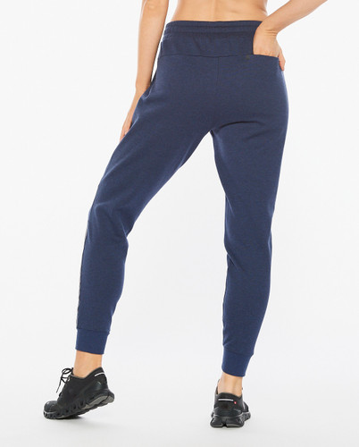 2XU - Commute Trackpant - Women's - Navy Marle/Black - 2021