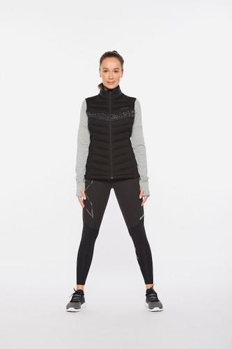 2XU - Ignition Insulation Vest - Women's - Black/Black Reflective - 2021
