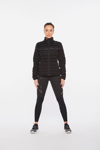 2XU - Ignition Insulation Jacket - Women's - Black/Black Reflective - 2021