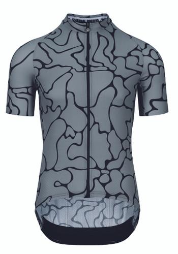 Assos - MILLE GT Men's Summer Short-Sleeved Jersey c2 Voganski 2021 - Gerva Grey