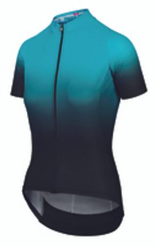 Assos - UMA GT Women's c2 Shifter Summer Short Sleeve Jersey 2021 - Hydro Blue