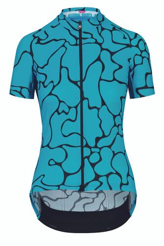 Assos - UMA GT Women's Summer Short Sleeve Jersey c2 Voganski 2021 - Hydro Blue