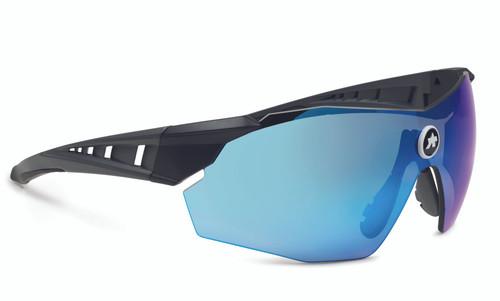 Assos - SKHARAB Unisex Wraparound Sunglasses 2021 - Neptune Blue