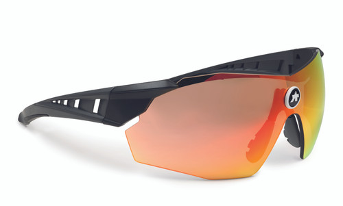 Assos - SKHARAB Unisex Wraparound Sunglasses 2021 - National Red