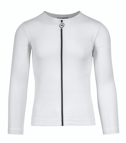 Assos - ASSOSOIRES Men's Summer Long Sleeve Skin Layer 2021 - Holy White