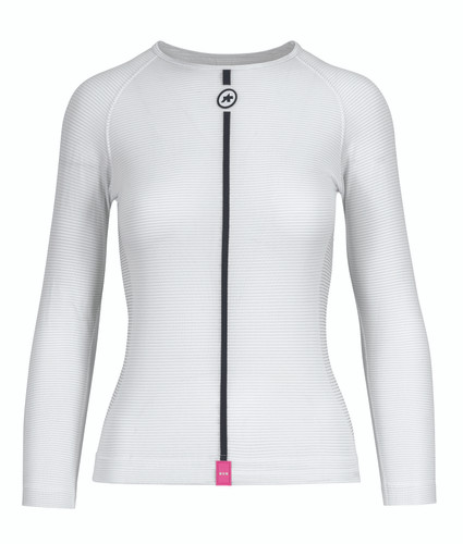 Assos - ASSOSOIRES Women's Summer Long-Sleeved Skin Layer 2021 - Holy White