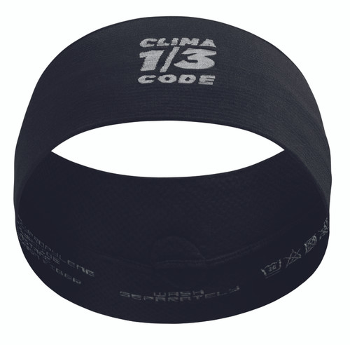 Assos - ASSOSOIRES Unisex Summer Headband 2021 - Black Series