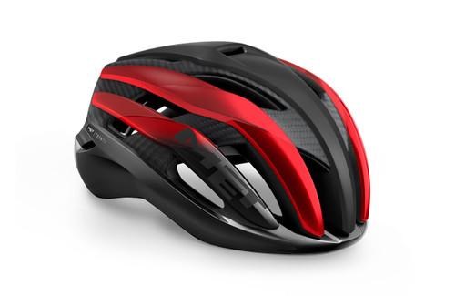 MET - My21 Trenta 3K Cycle Helmet - Carbon Black/Red