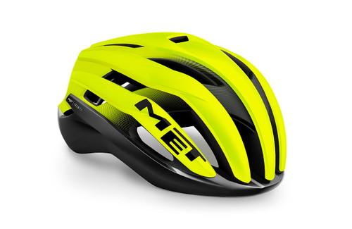 MET - My21 Trenta MIPS Road Cycling Helmet - Black/Yellow