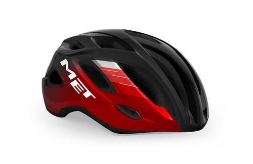 MET - My21 Idolo Road Cycling Helmet  - Black/Metallic Red