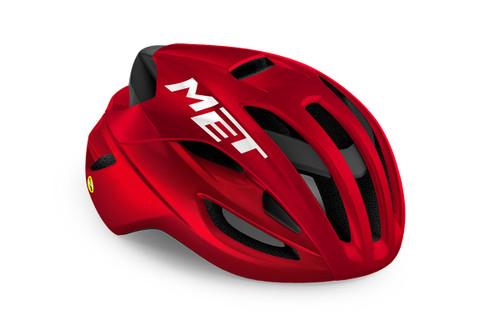 MET - My21 Rivale MIPS Cycling Helmet - Red Metallic