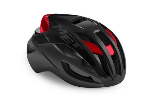MET - My21 Rivale Cycling Helmet - Black/Red
