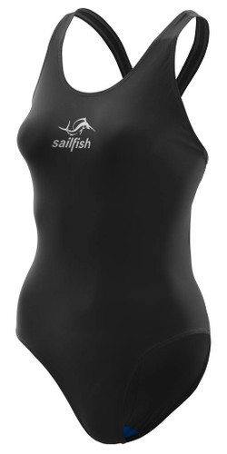 Sailfish - Power Women's Sportback One-Piece Swimsuit 2021 - Black