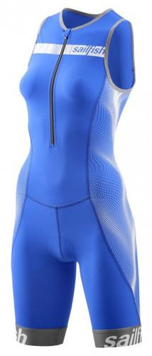 Sailfish - Women's Trisuit Comp 2021 - Blue/White