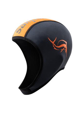Sailfish - Unisex Adjustable Neoprene Cap 2021 - Orange