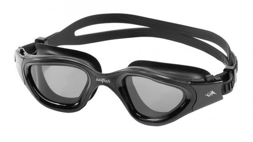Sailfish - Blizzard Unisex Swim Goggles 2021 - Black Polarised