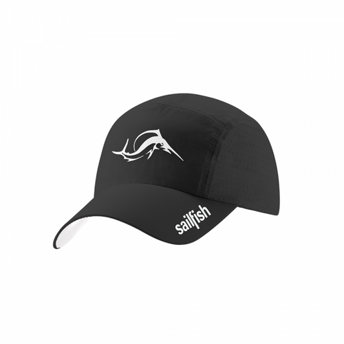 Sailfish - Running Cap - Unisex - Black - 2021