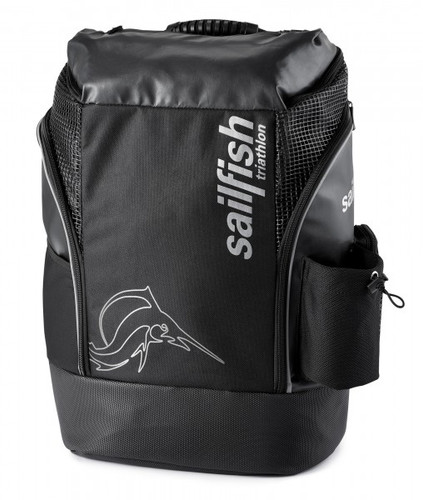 Sailfish - Backpack Cape Town - Unisex - Black/Silver - 2021